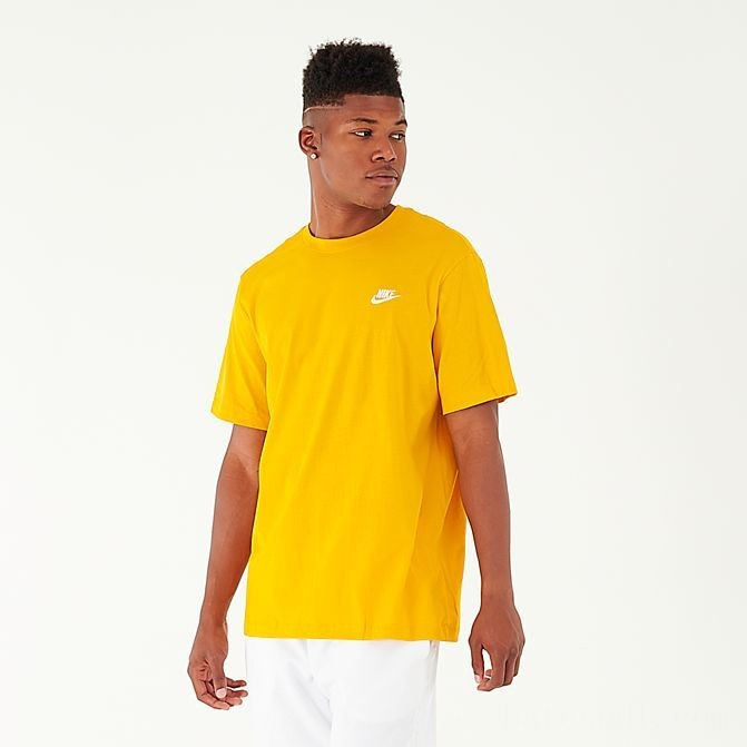 Men's Nike Sportswear Club T-Shirt Sulfur Sales