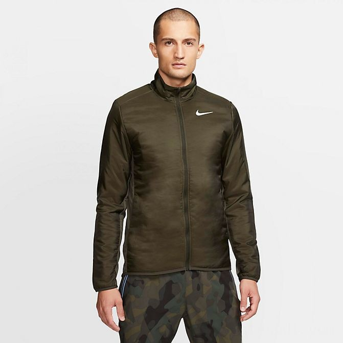 Men's Nike AeroLayer Jacket Sequoia/Grey Fog Sales