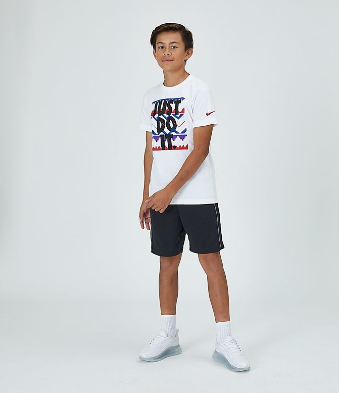 Boys' Nike Sportswear JDI T-Shirt White/Black Sales