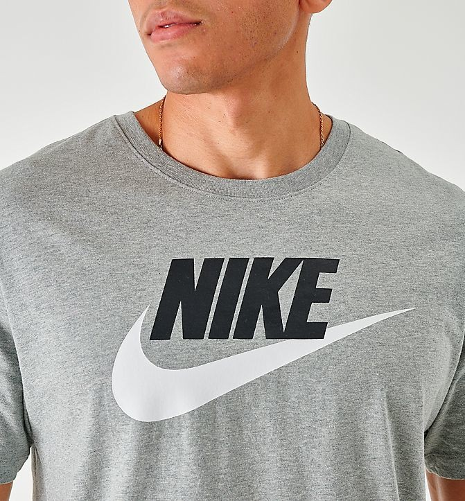 Men's Nike Sportswear Icon Futura T-Shirt Dark Grey Sales