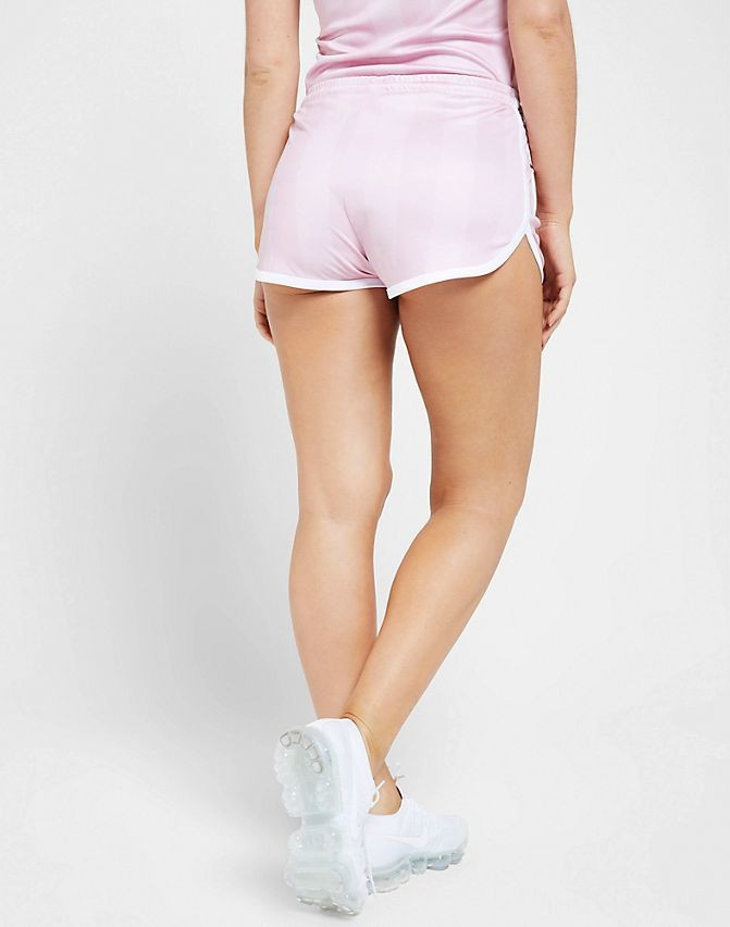 Women's SikSilk Shadow Stripe Shorts Pink Sales
