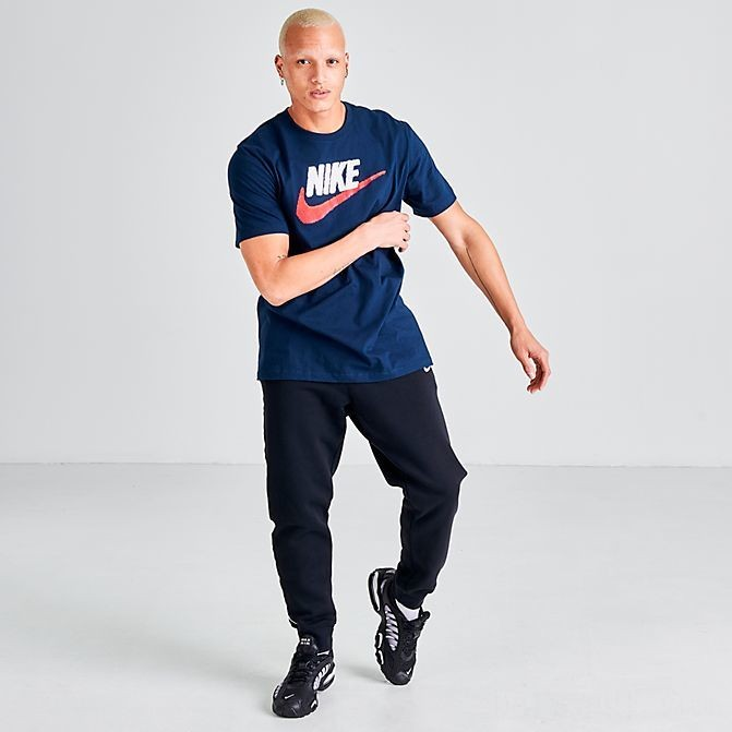 Men's Nike Sportswear Brand Mark T-Shirt Obsidian Sales