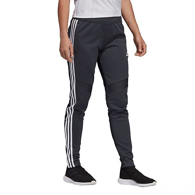 Women's adidas Tiro 19 Training Pants Grey/White Sales