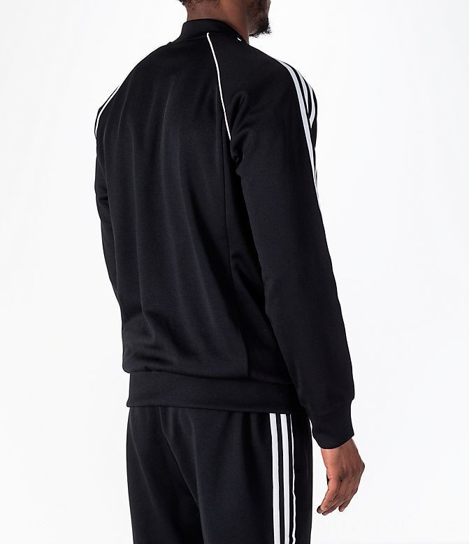 Men's adidas Originals adicolor Superstar Track Jacket Black Sales