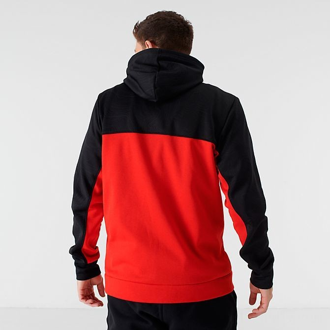 Men's The North Face Surgent Bloc 2.0 Full-Zip Hoodie TNF Black/Red Sales