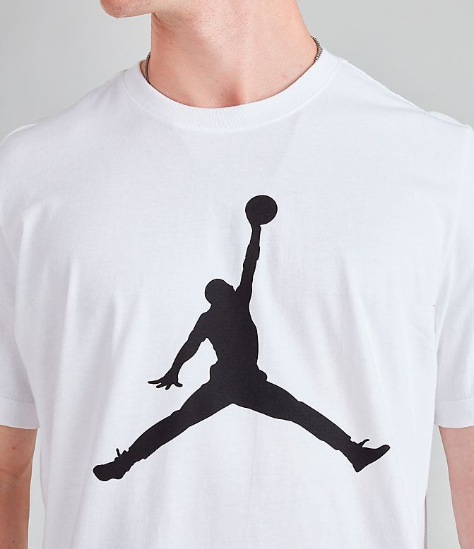 Men's Jordan Jumpman T-Shirt White/Black Sales