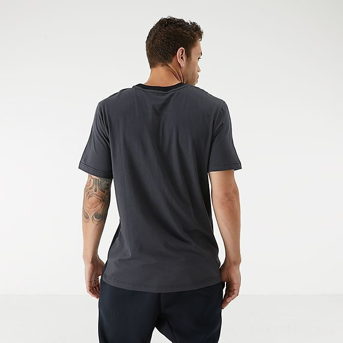 Men's Nike Sportswear Air Max Tape T-Shirt Black/Anthracite Sales