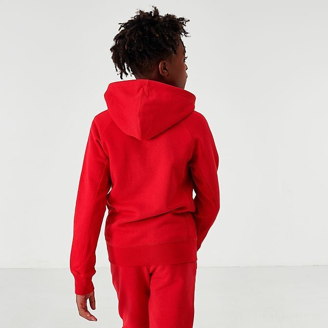Boys' Jordan Wings Fleece Full-Zip Hoodie Gym Red Sales