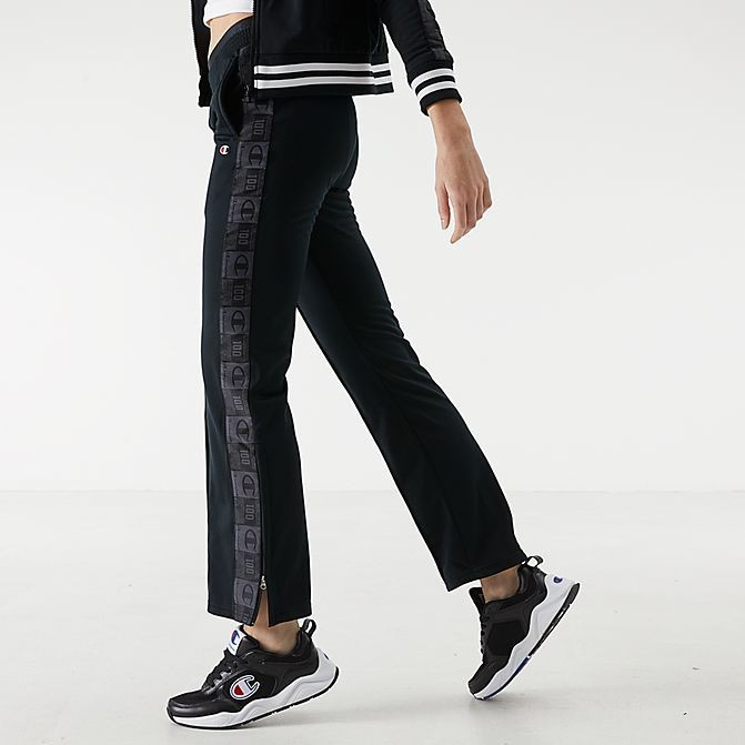 Women's Champion Track Pants Black Sales