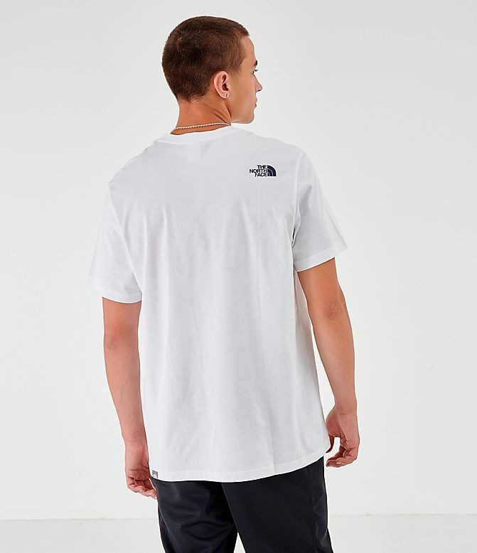 Men's The North Face New Stripe 19 T-Shirt White Sales