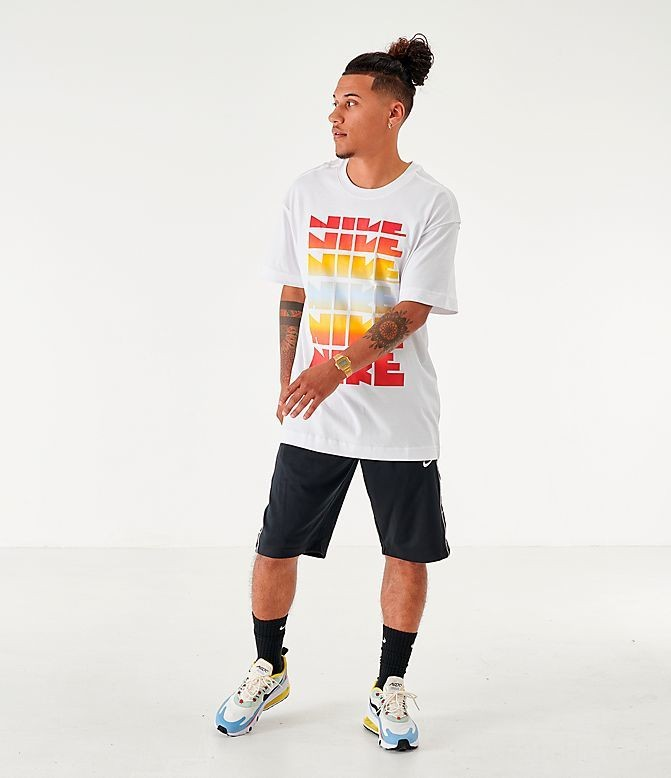 Men's Nike Sportswear Classic Graphic T-Shirt White Sales