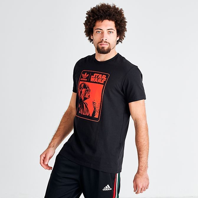 Men's adidas x Star Wars Darth Vader T-Shirt Black Sales