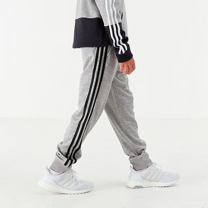 Boys' adidas 39 Core Jogger Pants Grey/Black Sales