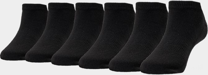 Finish Line Youth 6-Pack Low-Cut Socks Black Sales